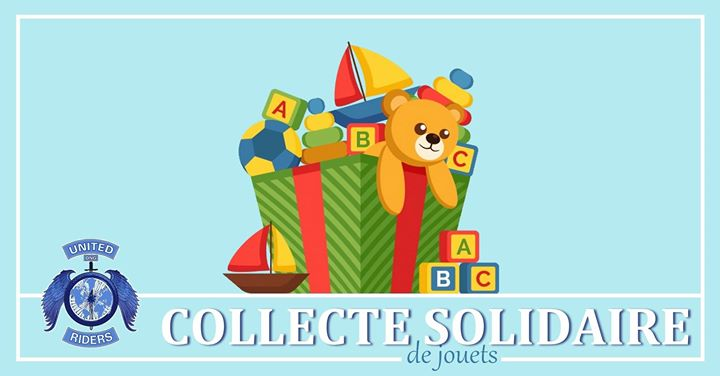 Collecte de jouets Solidaire in Lyon le Sat, December  7, 2019 from 02:00 pm to 01:00 am (Fund raising Gay)