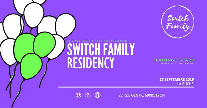 Residency Switch Family en Lyon le vie 27 de septiembre de 2019 19:30-01:00 (After-Work Gay)