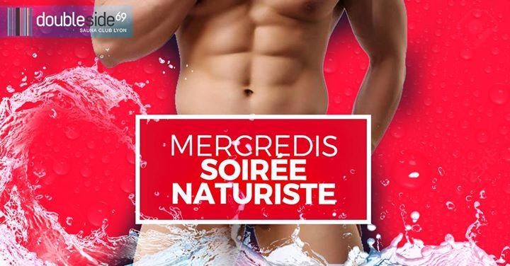 Soirée Naturiste au Double Side in Lyon le Mi 19. Februar, 2020 20.00 bis 01.00 (Sexe Gay)