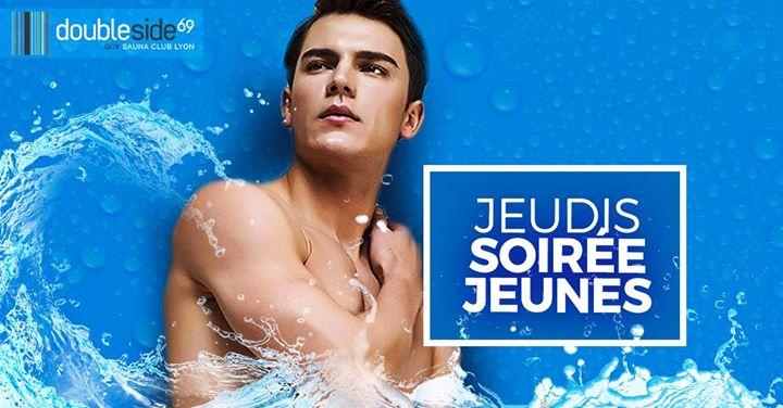 Soirée Jeunes [7€ pour les -26 ans] au Double Side à Lyon le jeu. 12 décembre 2019 de 20h00 à 01h00 (Sexe Gay)