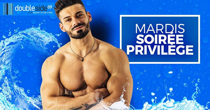 Soirée Privilège [7€ pour les 26/36 ans] au Double Side in Lyon le Tue, December 10, 2019 from 08:00 pm to 01:00 am (Sex Gay)