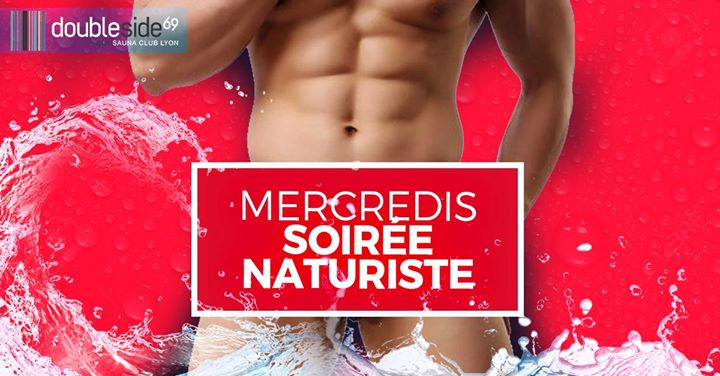 Soirée Naturiste au Double Side in Lyon le Mi 27. November, 2019 20.00 bis 01.00 (Sexe Gay)