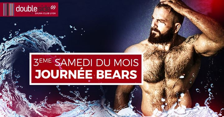 Journée Bears au Double Side in Lyon le Sat, April 18, 2020 from 12:00 pm to 04:00 pm (Sex Gay)