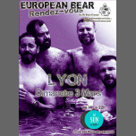 European Bear RDV à Lyon in Lyon le Sun, March  3, 2019 from 02:00 pm to 10:00 pm (Sex Gay)
