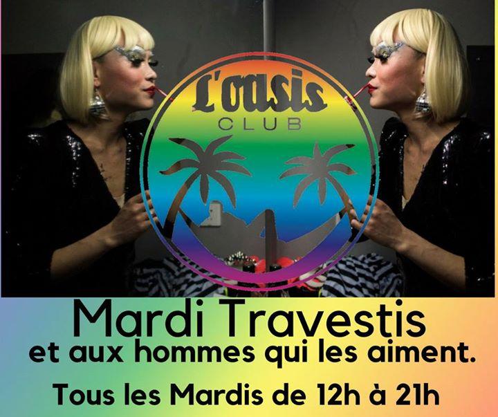 Mardi travesti et homme qui aime les travestis à Lyon le mar.  9 juillet 2019 de 12h00 à 21h00 (Sexe Gay)