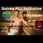 Soirée ALL inclusive à Lyon le sam.  4 mai 2019 de 21h00 à 03h00 (Sexe Gay)