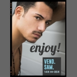 Enjoy! à Lyon le sam.  2 mai 2015 de 14h00 à 05h00 (Sexe Gay)