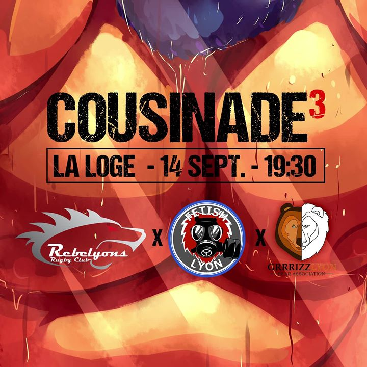 Cousinade Apéro Inter-Assos in Lyon le Sa 14. September, 2019 19.00 bis 23.30 (After-Work Gay)