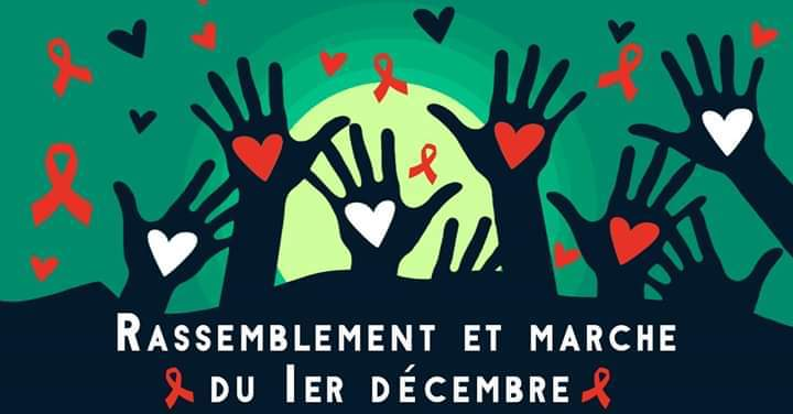 Rassemblement et Marche du 1er décembre 2019 in Lyon le Sun, December  1, 2019 from 03:00 pm to 10:00 pm (Parades Gay)