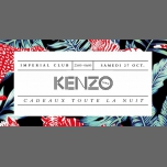 Soiree KENZO @ IMPERIAL LYON in Lyon le Sat, October 27, 2018 from 11:00 pm to 06:00 am (Clubbing Gay, Lesbian)