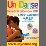 Stage de tango argentin à Lyon le sam. 16 décembre 2017 de 11h00 à 13h00 (Atelier Gay, Lesbienne, Trans, Bi)