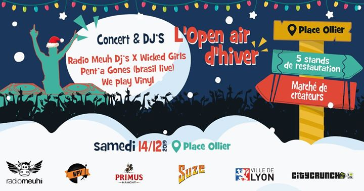Open Air : SoliBARités fête l'Hiver ! in Lyon le Sa 14. Dezember, 2019 15.00 bis 23.00 (After-Work Gay Friendly)