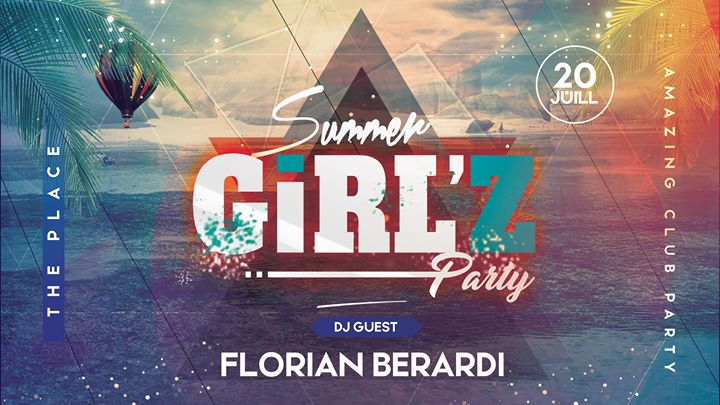Summer GiRL'Z Party in Lyon le Sat, July 20, 2019 at 11:00 pm (Clubbing Lesbian)