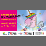 Concours visuel Salon BD & Manga LGBT+ in Lyon le Sun, March 17, 2019 from 12:00 am to 12:00 am (Meetings / Discussions Gay, Lesbian)