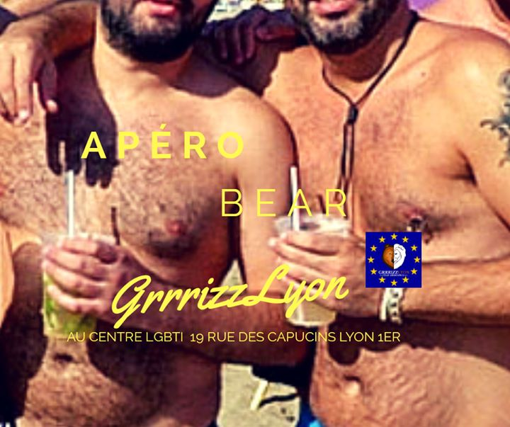 Apéro Bear Juillet en Lyon le jue 11 de julio de 2019 18:30-21:00 (After-Work Gay, Oso)