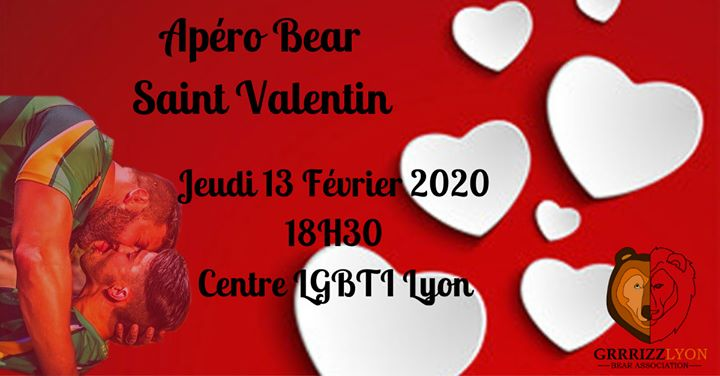 Apero Bear in Lyon le Thu, February 13, 2020 from 06:30 pm to 09:00 pm (After-Work Gay, Bear)