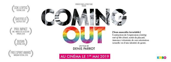 VilleurbanneComing Out | En présence du réalisateur - Villeurbanne2019年 8月13日,20:30(男同性恋, 女同性恋, 变性, 双性恋 电影)