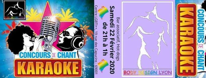 Concours de Karaoké in Lyon le Sat, February 22, 2020 from 09:00 pm to 01:00 am (After-Work Gay, Lesbian, Trans, Bi)