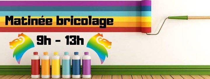 Matinée bricolage au Centre LGBTI LYON in Lyon le Sat, September 21, 2019 from 09:00 am to 01:00 pm (Community life Gay, Lesbian, Trans, Bi)