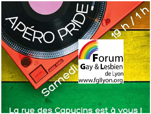 AperoPride 2019 in Lyon le Sat, June 15, 2019 from 07:00 pm to 01:00 am (After-Work Gay, Lesbian, Trans, Bi)