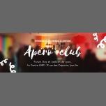 里昂Apéro-club FGL2018年 6月23日,18:30(男同性恋, 女同性恋, 变性, 双性恋 下班后的活动)