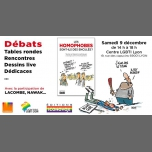 """Débats autour du livre """"Les homophobes sont-ils … ?"""" à Lyon à Lyon le sam.  9 décembre 2017 de 14h00 à 18h00 (Rencontres / Débats Gay, Lesbienne, Trans, Bi)"""