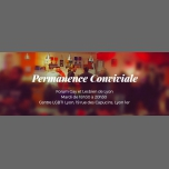 Permanence Conviviale FGL in Lyon le Tue, March 13, 2018 from 06:30 pm to 08:30 pm (Meetings / Discussions Gay, Lesbian, Trans, Bi)