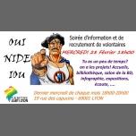 里昂Soirée information et recrutement volontaires2018年 6月28日,18:00(男同性恋, 女同性恋, 变性, 双性恋 见面会/辩论)