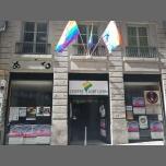 Exposition sur les différents drapeaux LGBTI à Lyon du  1 au 30 juin 2018 (Expo Gay, Lesbienne, Trans, Bi)