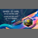 Bee4 soirée Evenement avec Dj ELA Stanska in Lyon le Sat, April 21, 2018 from 09:00 pm to 12:00 am (After-Work Gay, Lesbian, Trans, Bi)