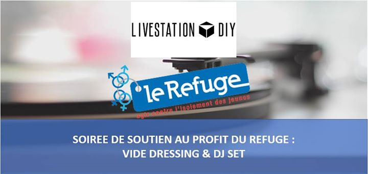 Vide-dressing au profit du Refuge w/ Ma Gda em Lyon le sáb, 18 maio 2019 20:00-01:00 (After-Work Gay, Lesbica)