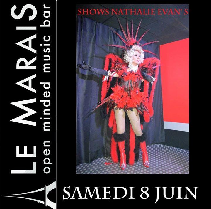 Shows inédits Nathalie Evan' s> 8/06/19 à Clermont-Ferrand le sam.  8 juin 2019 de 20h00 à 04h00 (Clubbing Gay, Lesbienne)