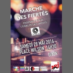 Marche des Fiertés de Dijon 2016 à Dijon le sam. 28 mai 2016 de 14h30 à 18h30 (Parades / Défilés Gay, Lesbienne)