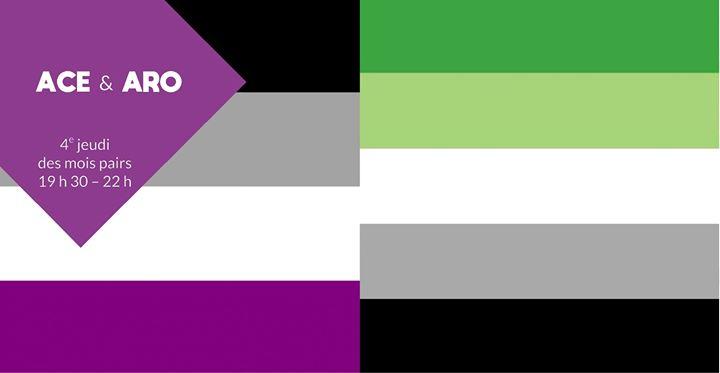 Ace & Aro à Rennes le jeu. 27 juin 2019 de 19h30 à 22h00 (Rencontres / Débats Gay, Lesbienne, Trans, Bi)