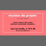 Réunion de projets in Rennes from February 26 til December 31, 2018 (Meetings / Discussions Gay, Lesbian)
