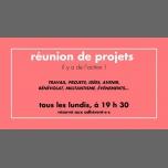 Réunion de projets à Rennes du 26 février au 31 décembre 2018 (Rencontres / Débats Gay, Lesbienne)