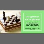 Des gâteaux sur un plateau in Rennes le Sun, April 15, 2018 from 03:00 pm to 06:00 pm (Meetings / Discussions Gay, Lesbian)