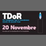 TDoR/ Un mois sur la transidentité et la transphobie à Rennes le jeu. 15 novembre 2018 de 00h01 à 23h59 (Rencontres / Débats Gay, Lesbienne)
