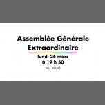 Assemblée Générale Extraordinaire in Rennes le Mo 26. März, 2018 19.30 bis 22.30 (Vie Associative Gay, Lesbierin)
