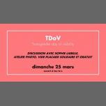 TDoV du CGLBT Rennes à Rennes le dim. 25 mars 2018 de 15h00 à 18h00 (Rencontres / Débats Gay, Lesbienne)