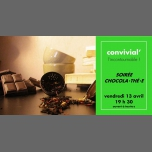 Convivial' Soirée chocola⋅thé⋅e en Rennes le vie 13 de abril de 2018 19:30-23:00 (After-Work Gay, Lesbiana)