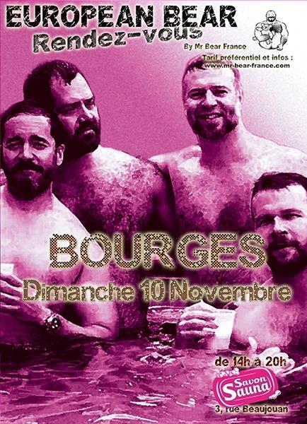 European Bear RDV à Bourges em Bourges le dom, 10 novembro 2019 14:00-20:00 (Sexo Gay Friendly)
