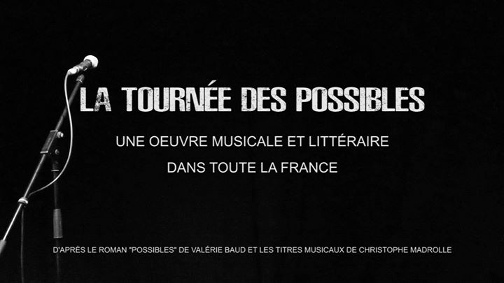 La Tournée des Possibles à Paris in Paris le Sun, November 10, 2019 from 06:00 pm to 08:00 pm (Concert Gay, Lesbian)