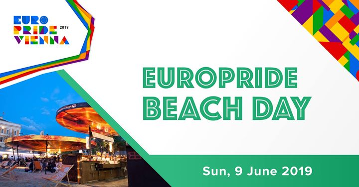EuroPride Beach Day 2019 in Vienna le Sun, June  9, 2019 from 10:00 am to 10:00 pm (Festival Gay, Lesbian, Trans, Bi)