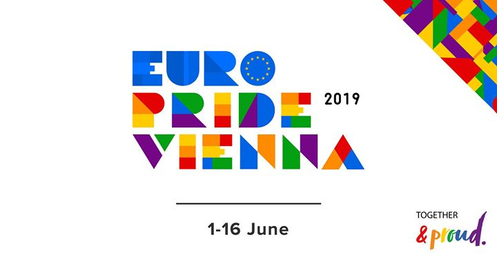 EuroPride Vienna 2019 in Vienna le Sat, June  1, 2019 from 12:01 am to 11:59 pm (Festival Gay, Lesbian, Trans, Bi)