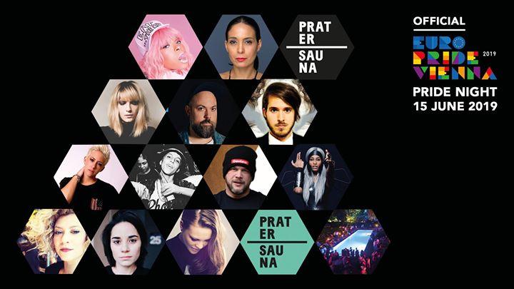 Official EuroPRIDE NIGHT Vienna 2019 à Vienne le sam. 15 juin 2019 de 23h00 à 06h00 (Clubbing Gay, Lesbienne, Trans, Bi)