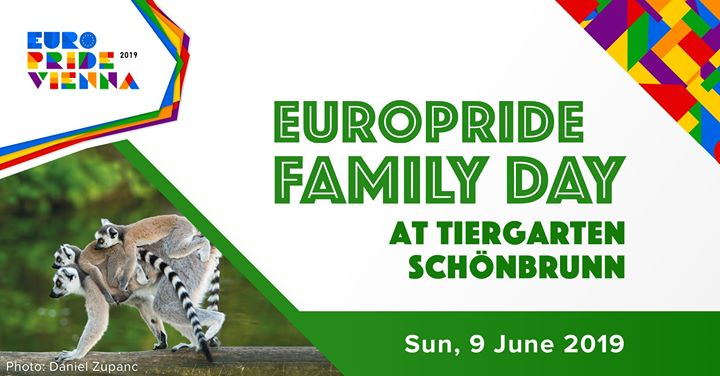 EuroPride Family Day 2019 in Vienna le Sun, June  9, 2019 from 09:00 am to 06:30 pm (Festival Gay, Lesbian, Trans, Bi)