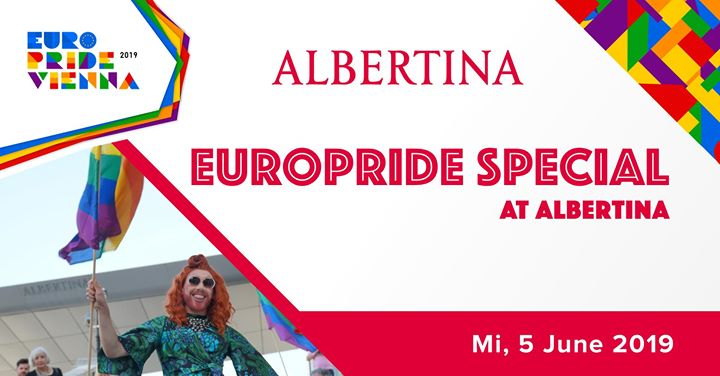 EuroPride Special Albertina 2019 in Vienna le Wed, June  5, 2019 from 06:00 pm to 11:00 pm (Festival Gay, Lesbian, Trans, Bi)