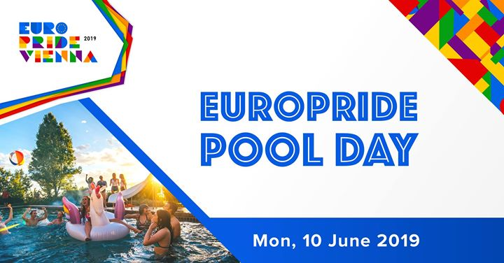 EuroPride Pool Day 2019 in Vienna le Mon, June 10, 2019 from 09:00 am to 07:00 pm (Festival Gay, Lesbian, Trans, Bi)