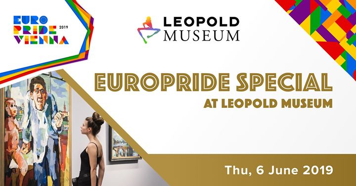 EuroPride Special Leopold Museum 2019 in Vienna le Thu, June  6, 2019 from 06:00 pm to 08:30 pm (Festival Gay, Lesbian, Trans, Bi)